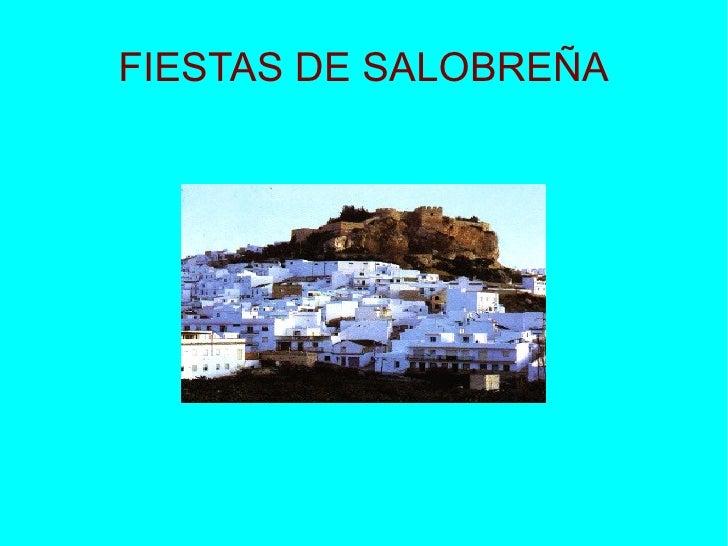 FIESTAS DE SALOBREÑA