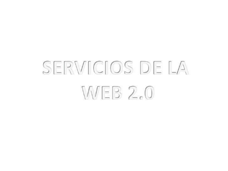"""SERVICIOS 1.   BLOGS 2.   WIKIS 3.   ETIQUETADO Y """"SOCIAL BOOKMARKING"""" 4.   FOLKSONOMY 5.   MULTIMEDIA SHARING 6.   AUDIOB..."""