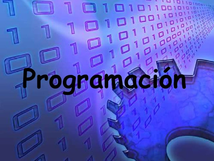 Programación <br />