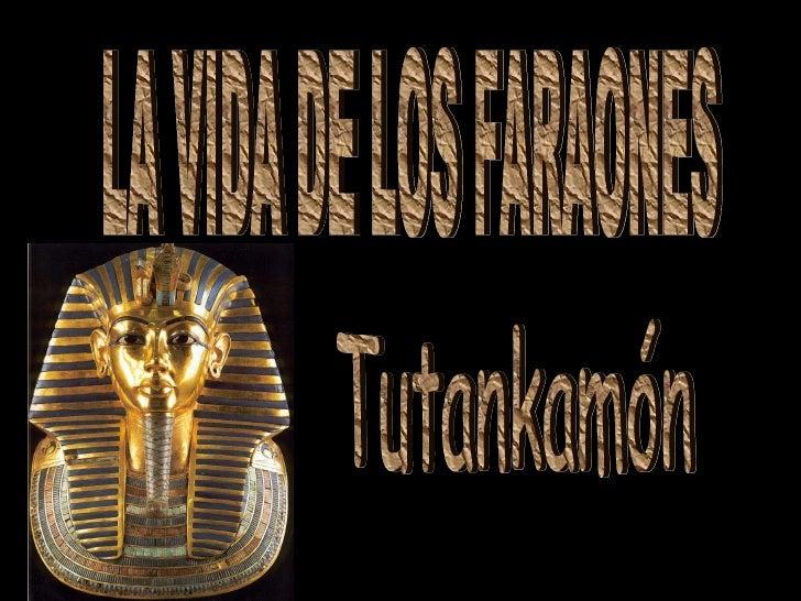 LA VIDA DE LOS FARAONES Tutankamón