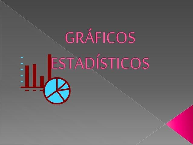  La elaboración de gráficos estadísticos es una poderosa herramienta para el análisis de datos, siendo un medio muy efect...