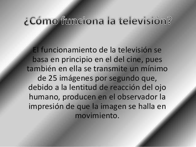 La señal de televisión es una compleja onda electromagnética de variación de tensión o intensidad, compuesta por las sigui...