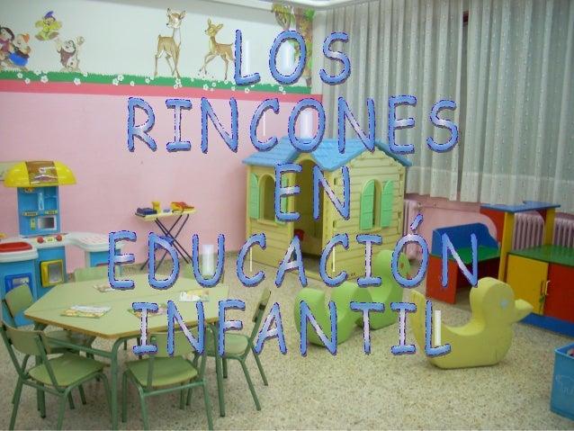 Los rincones en educaci n infantil for Decoracion de espacios de preescolar
