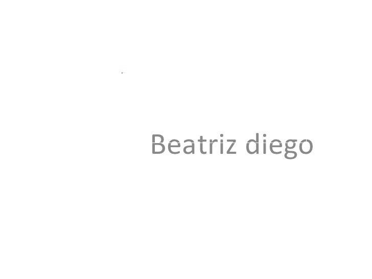 Beatriz diego
