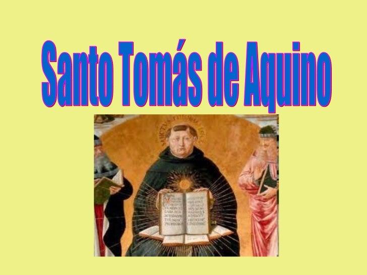 Santo Tomás de Aquino     ...