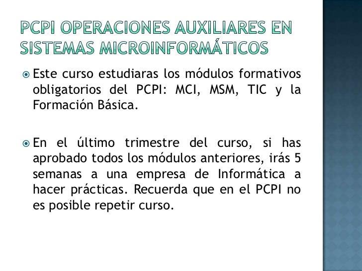 Introducción PCPI Slide 2
