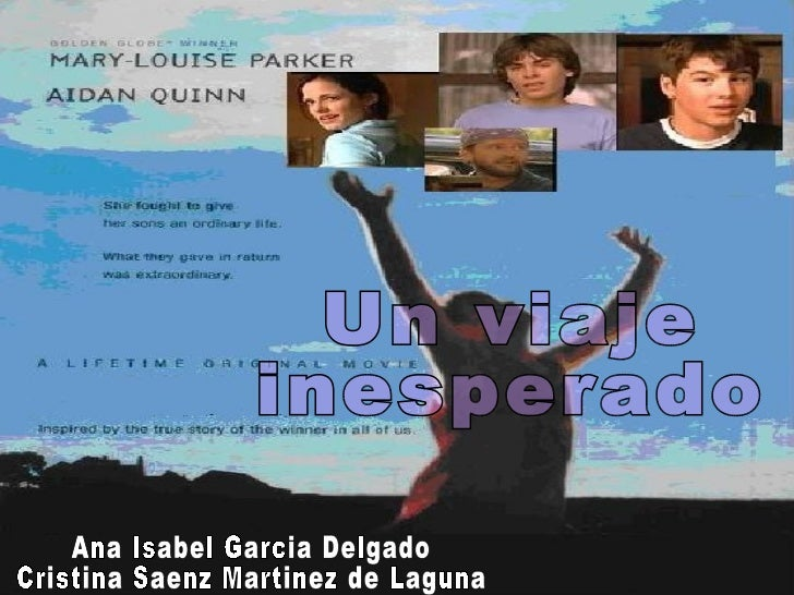 Un viaje  inesperado Ana Isabel Garcia Delgado Cristina Saenz Martinez de Laguna