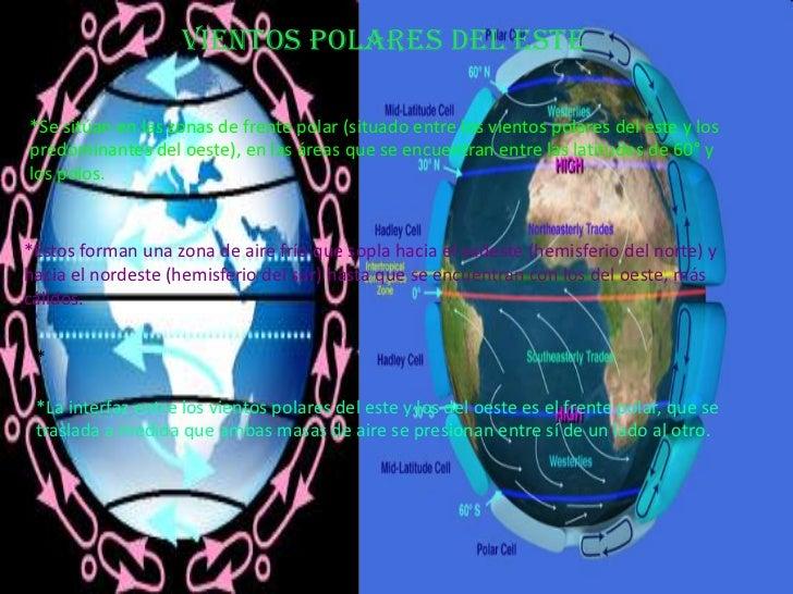 Porque Los Vientos Corren En Diferentes Direcciones El Hemisferio