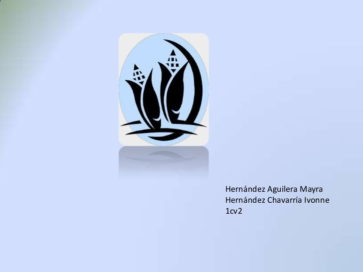 Hernández Aguilera Mayra<br />Hernández Chavarría Ivonne<br />1cv2<br />