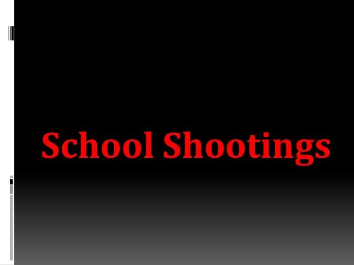 SchoolShootings<br />