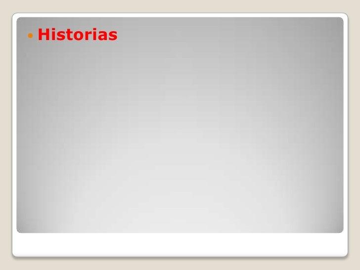 Historias<br />