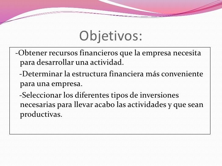 Departamento Financiero De Una Empresa