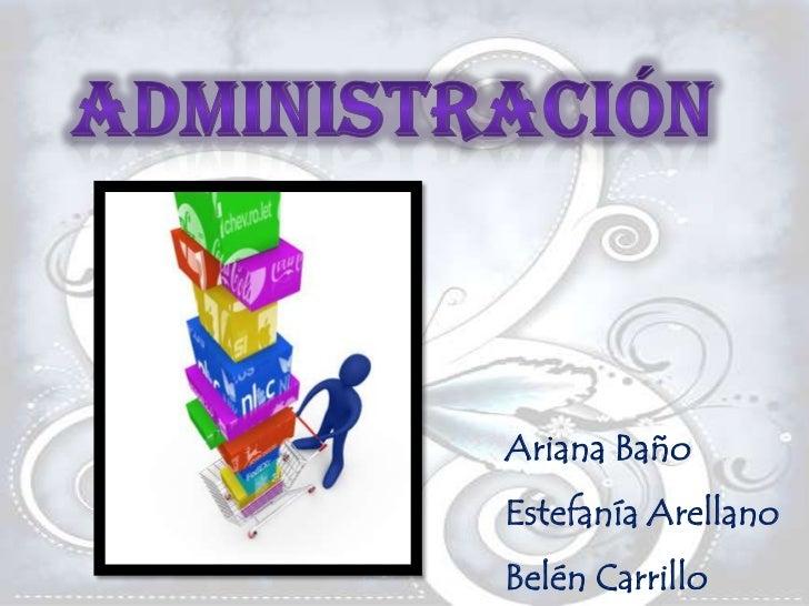 Ariana BañoEstefanía ArellanoBelén Carrillo