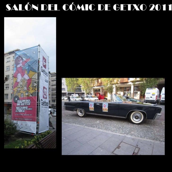 SALÓN DEL CÓMIC DE GETXO 2011 Slide 3