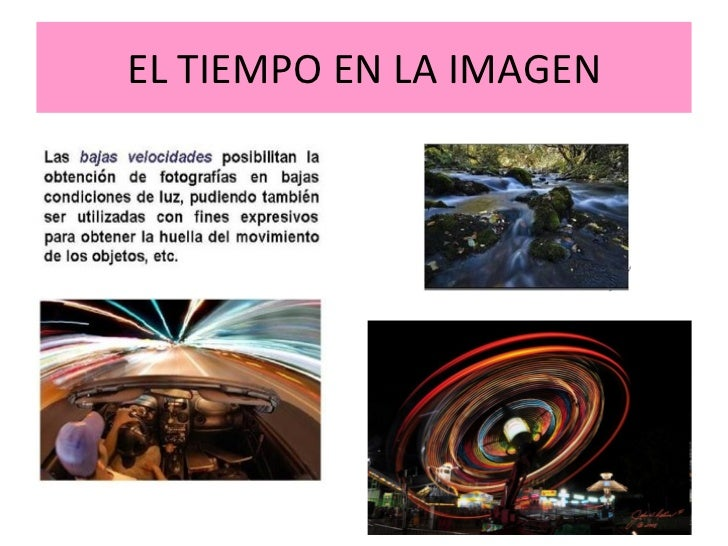 El tiempo y el texto en la imagen fija - El tiempo olleria ...