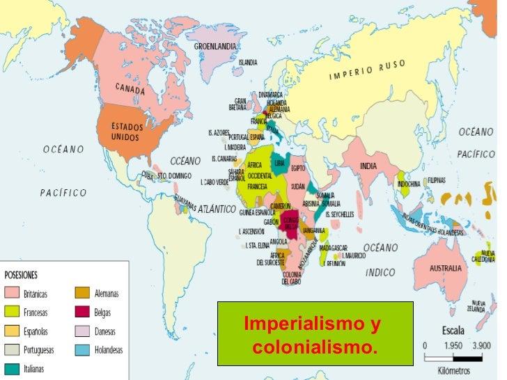 Imperialismo y  colonialismo.