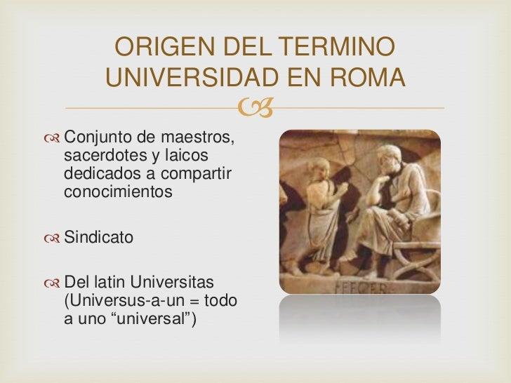 Roma Universidad Slide 2