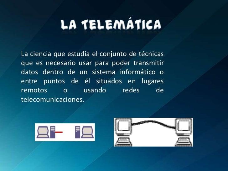 Telemática Slide 2