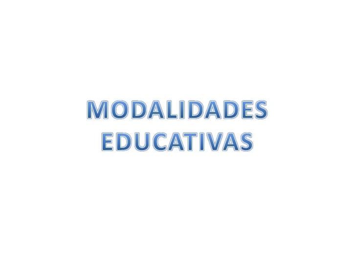EDUCACIÓN ESCOLARIZADA       .