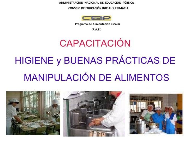ADMINISTRACIÓN NACIONAL DE EDUCACIÓN PÚBLICA            CONSEJO DE EDUCACIÓN INICIAL Y PRIMARIA                Programa de...