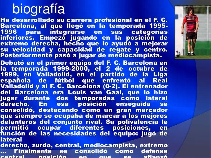 Selección española   El mayor éxito de Carles Puyol con la selección española lo    consiguió como titular durante la fin...