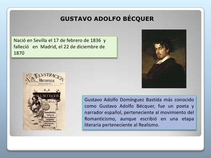 Gustavo adolfo bequer por jorge garcia macias for Adolfo dominguez acciones
