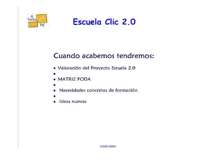 Escuela 2.0 Slide 3