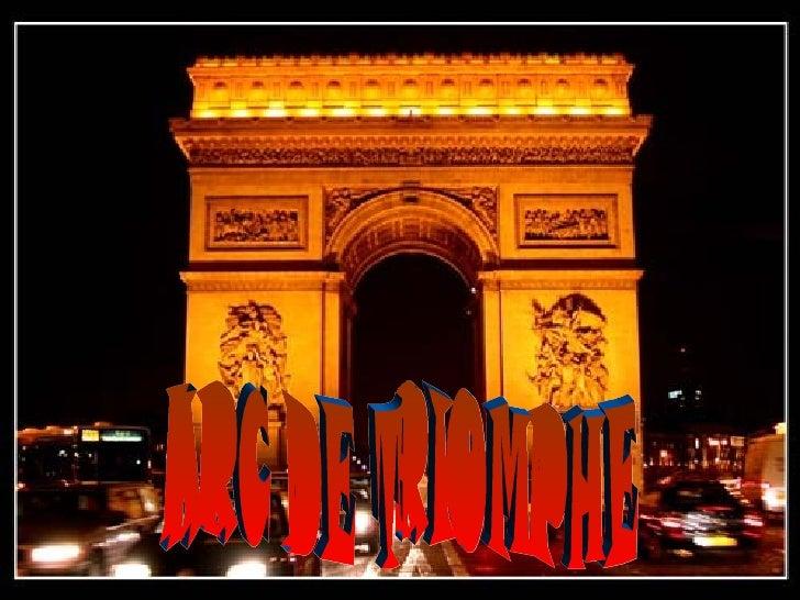 LArc du Triomphe est situé à  Paris dans le 8  arrondissement, sur la place  de l'Étoile, à l'extrémité  ouest de l'avenue...