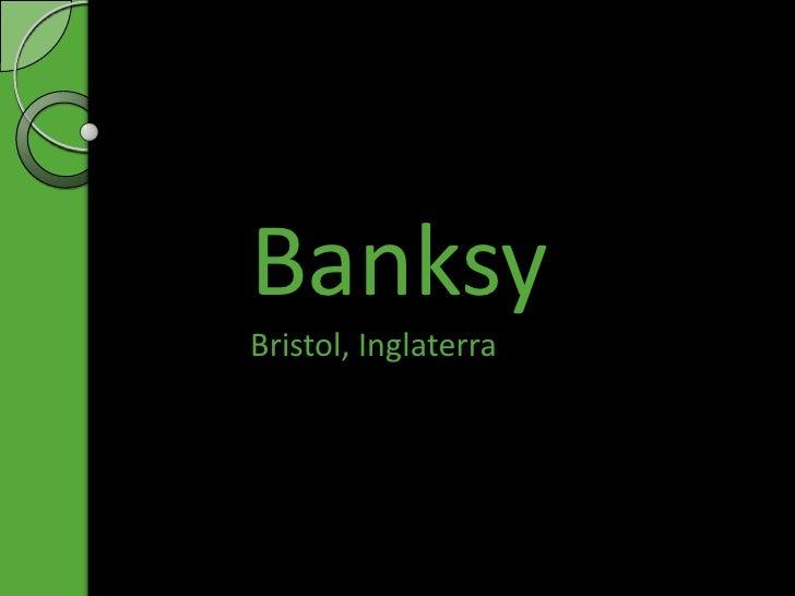 BanksyBristol, Inglaterra