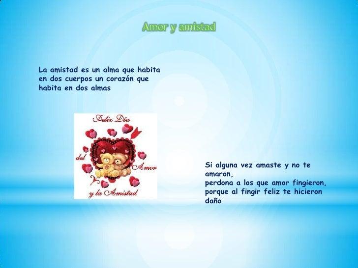 amor y amistad Slide 2