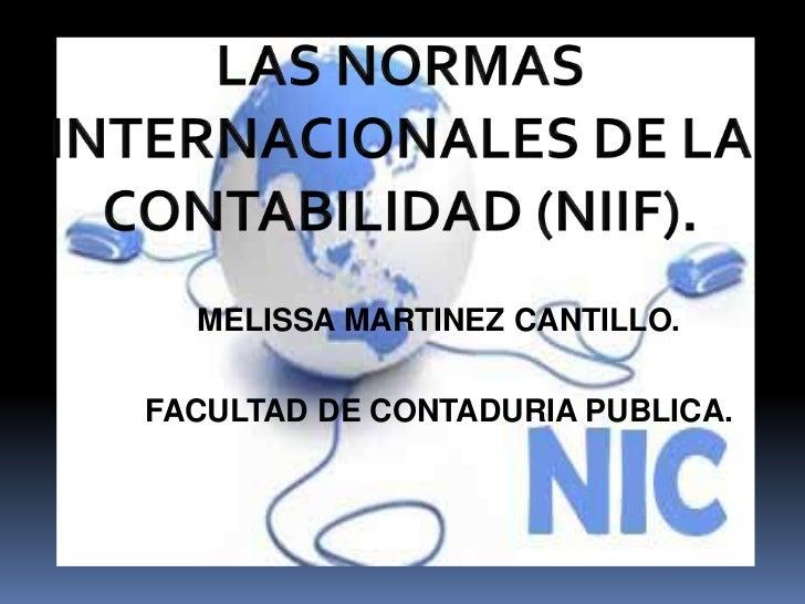 MELISSA MARTINEZ CANTILLO.FACULTAD DE CONTADURIA PUBLICA.