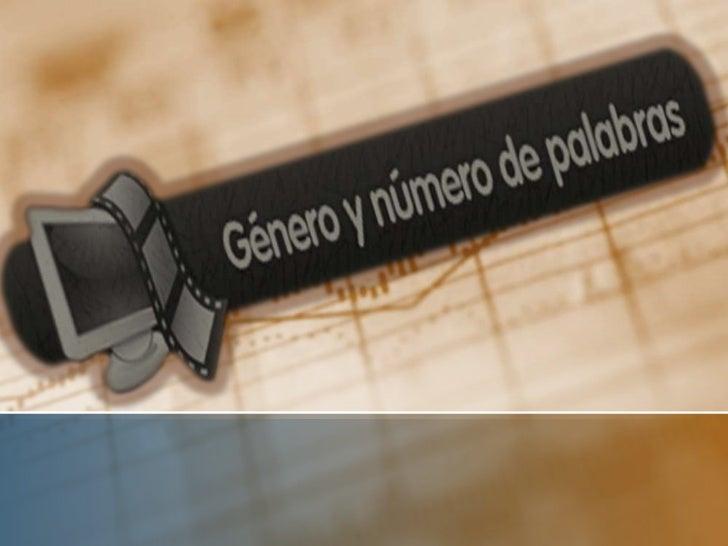 GéneroESTE CONCEPTO RESPONDE A LA NATURALEZA DE LAS COSASSOLAMENTE    CUANDO    NOS    REFERIMOS   A   REALIDADESSEXUADAS,...