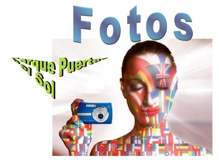 Fotos Parque Puertas  Del Sol