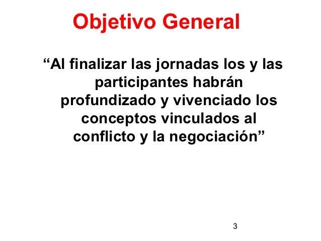 """MÓDULO 3   """"CULTURA DE LAPREVENCIÓN""""   Conflicto y Negociación Slide 3"""