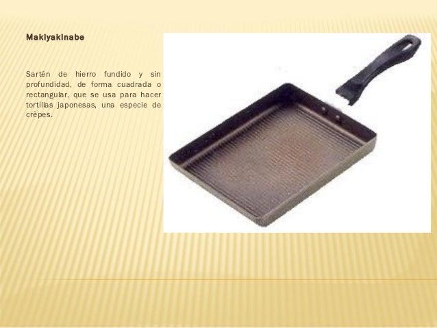 Utensilios de cocina asiatica for Utensilios cocina japonesa