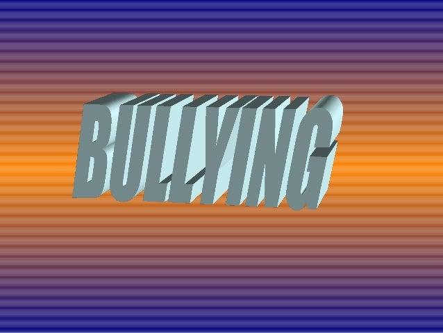 El acoso escolar es cualquier forma de maltratopsicológico, verbal o físico producido entre escolares deforma reiterada a ...