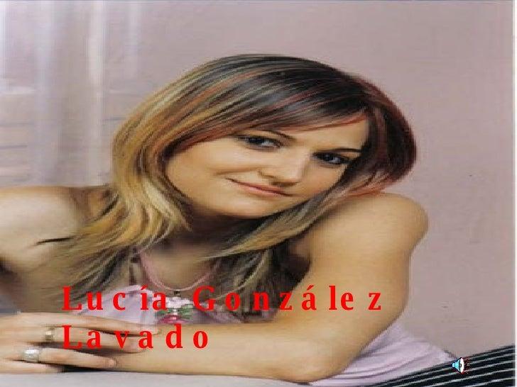 Lucía González Lavado