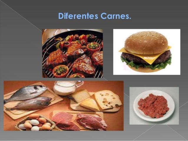 Diferentes Carnes.