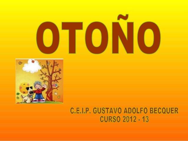 """"""" ¿CÓMO NACIÓ EL OTOÑO""""?"""