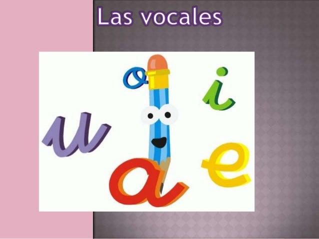 las vocales y completar las palabras con ellas