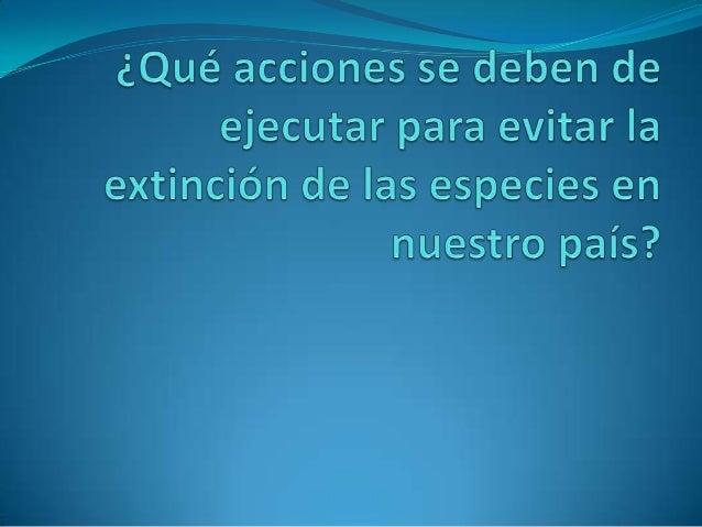 índice1.   Definición de extinción EXTINCIÓN2.   Evolución de las especies La extinción puede darse por la evolución de la...