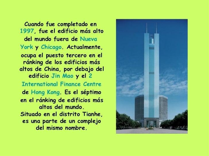 citic plaza cuando fue completado en fue el edificio ms alto del mundo