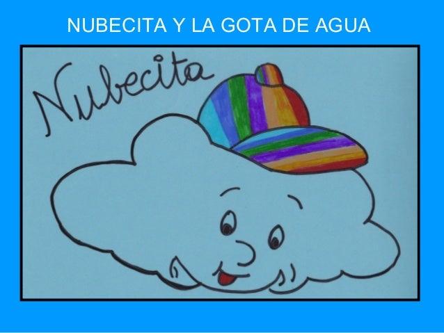 NUBECITA Y LA GOTA DE AGUA