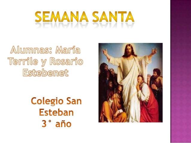 Se conoce como Domingo deRamos al día en el quese conmemora la entradamesiánica Jesús deNazaret en Jerusalén para darcomie...
