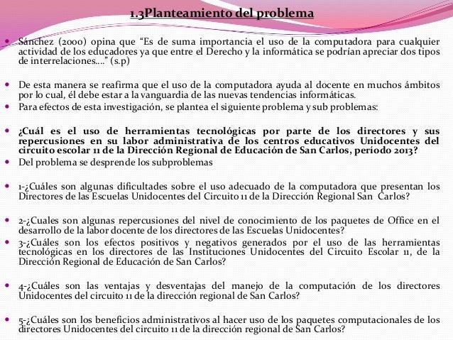  Proyecciones y limitaciones 1.4.1 Alcances Las capacitaciones son de prioridad para los docentesinvolucrados en este p...