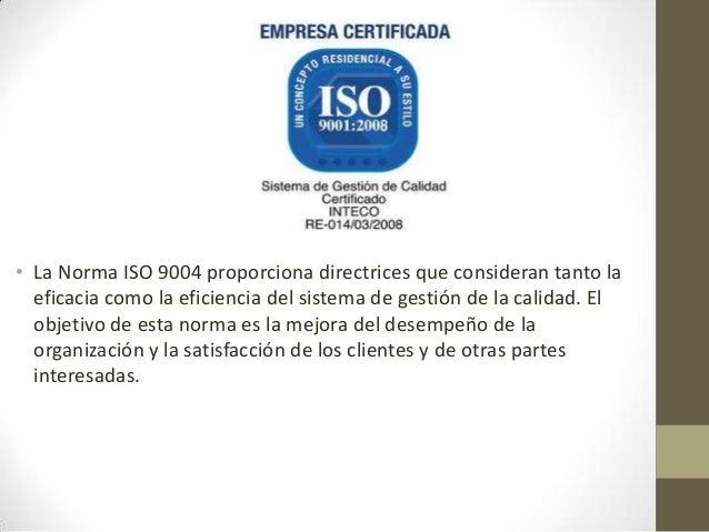 • La Norma ISO 19011 proporciona orientación relativa a lasauditorías de sistemas de gestión de la calidad y de gestiónamb...