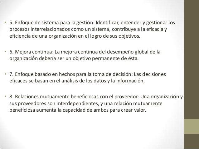 Objeto y campo de aplicación• 1. Las organizaciones que buscan ventajas por medio de laimplementación de un sistema de ges...