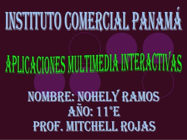 ÍNDICEMultimedia Interactivas.Aplicaciones Multimedia Interactivas.Clasificación según su Sistema de Navegación.Clasif...