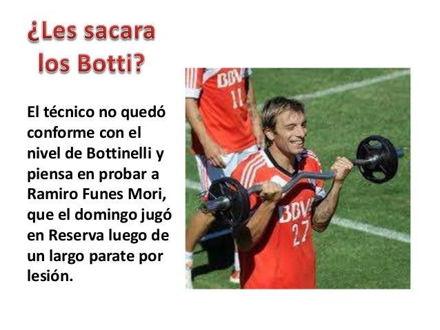"""""""Hay que ganar todo"""",dijo Ramón, dejandoen claro que River nopuede perder máspuntos en el Final.Tomando losantecedentes de..."""