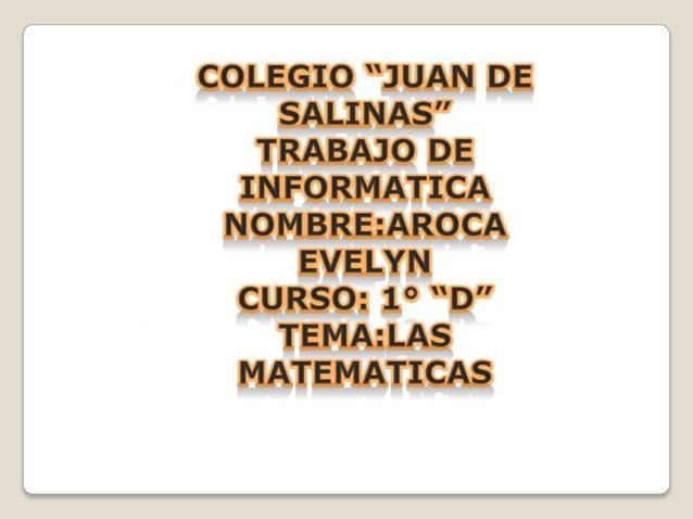 En matemática, una función (f) es una relación entre un conjuntodado X (llamado dominio) y otro conjunto de elementos Y(ll...
